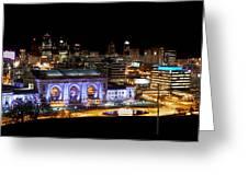 Kansas City Lights Greeting Card