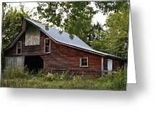 Kansas Hay Barn Greeting Card