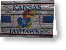 Kansas Jayhawks Greeting Card