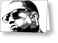 Kanye West Greeting Card