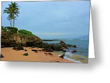 Kapalua Bay Cove Greeting Card