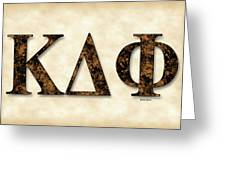 Kappa Delta Phi - Parchment Greeting Card