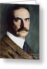 Karl Landsteiner (1868-1943) Greeting Card