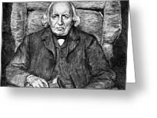 Karl Theodor Weierstrass (1815-1897) Greeting Card