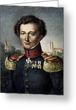 Karl Von Clausewitz (1780-1831) Greeting Card