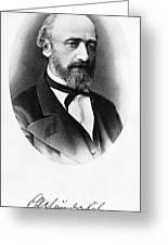 Karl Wunderlich (1815-1877) Greeting Card