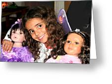 Karla's Dolls Greeting Card