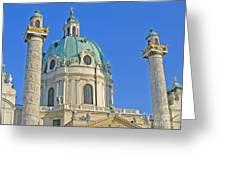 Karlskirche - Vienna Greeting Card
