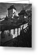Karlstejn Castle Greeting Card