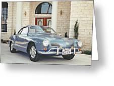 Karmann Ghia Coupe Greeting Card
