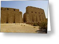 Karnak Temple 04 Greeting Card