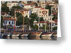 Kas Antalya Turkey  Greeting Card