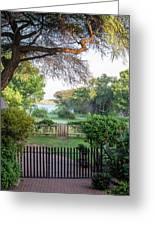 Kasane, Botswana - View Of The Chobe Greeting Card