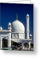 Kashmir Mosque Greeting Card