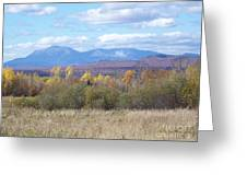 Katahdin From Staceyville 3 Greeting Card