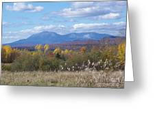 Katahdin From Staceyville 4 Greeting Card
