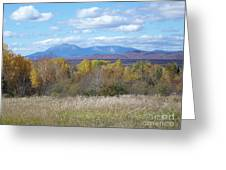 Katahdin From Staceyville 6 Greeting Card