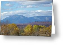 Katahdin From Staceyville 7 Greeting Card