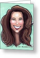 Kate Middleton Greeting Card