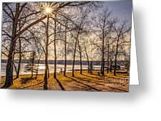 Katepwa Lake In Saskatchewan Greeting Card
