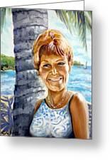Kathy Smiles Greeting Card