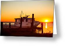 Katlyn At Sunrise Greeting Card