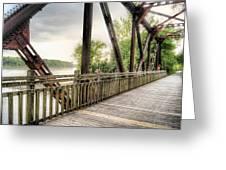 Katy Trail Near Easley Greeting Card
