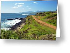 Kauai Coast Greeting Card