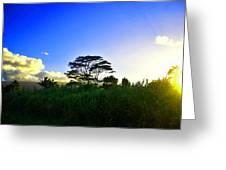 Kauai Dusk Greeting Card