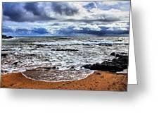 Kauai Glass Beach Greeting Card