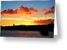 Kauai Sunset 2 Greeting Card