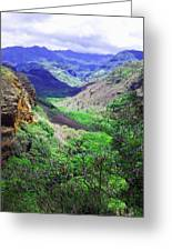 Kauai Valley Greeting Card