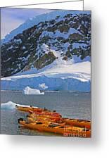 Kayaker's Dream Greeting Card