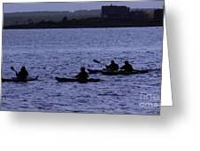 Kayaking Stonington Greeting Card