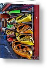 Kayaks Hdrbt3226-13 Greeting Card
