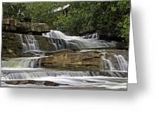 Kbal Chhay Waterfalls Greeting Card