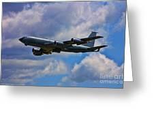 Kc-135 Stratotanker Greeting Card