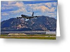 Kc-135 Take Off Greeting Card
