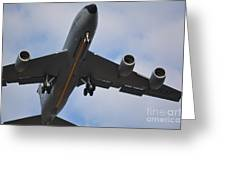 Kc135 Military Aircraft  Picture C Greeting Card