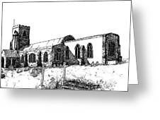 Kedington Church Greeting Card