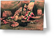 Keema Indian Princess Greeting Card