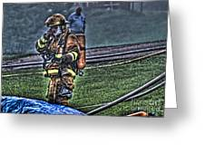 Keep Fire In Your Life No 5 Greeting Card