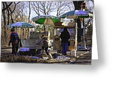 Keep Park Clean - Central Park - Nyc Greeting Card