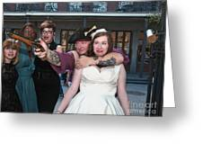 Keira's Destination Wedding - The Pirate Part Greeting Card