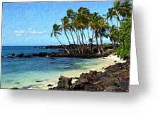 Kekaha Kai II Greeting Card
