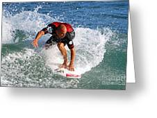 Kelly Slater World Surfing Champion Copy Greeting Card