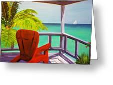 Kelly's Beach House Greeting Card