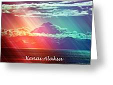 Kenai Alaska Mount Redoubt Greeting Card