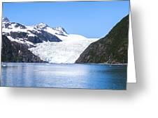 Aialik Glacier Greeting Card