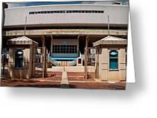 Kenan Memorial Stadium - Gate 6 Greeting Card